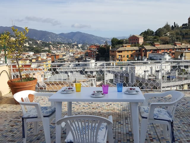 ROOFTOP TERRACE OVERLOOKING SANTA MARGHERITA