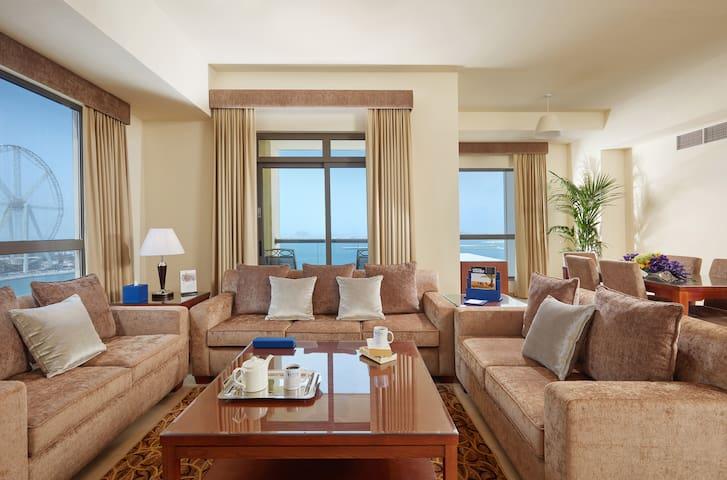 3 Bedroom Apartment Seaview-Roda Amwaj-theWalk JBR
