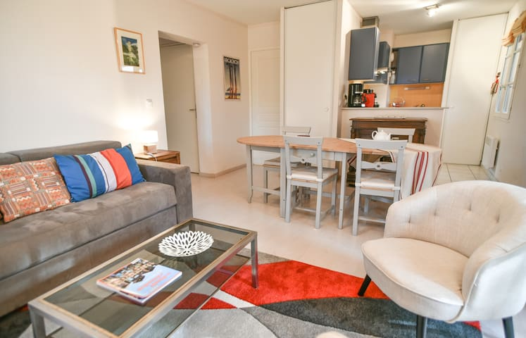 Superb apartment in the heart of Arcachon for 4 people with parking