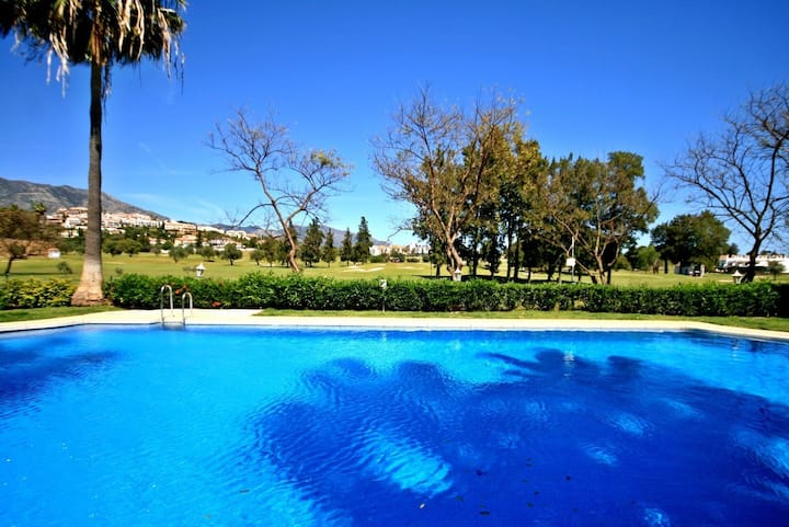 Spacious Penthouse in Mijas Golf, Mijas Costa