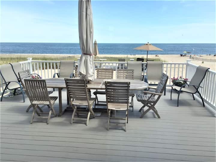 Oceanfront 6BR Home with Private Beach