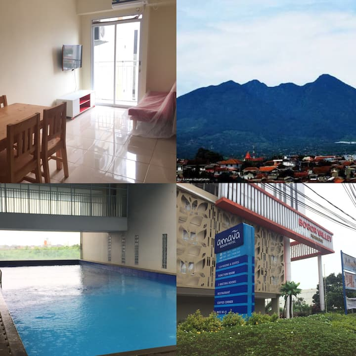 Bogor Brand New Apartment!  (Minimum 2 weeks rent)