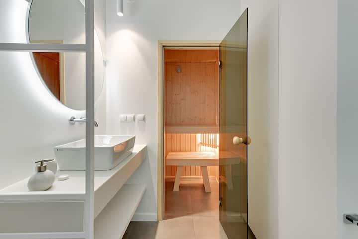 Superior Apartment with Sauna - Riverside