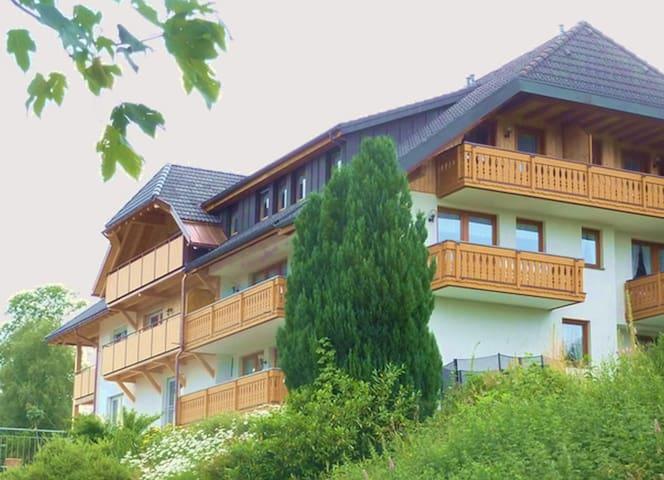 Hochtalblick, (Bernau), Zz_deaktiv_Ferienwohnung Hochkopf, 43 qm, 1 Schlafzimmer, max. 4 Personen