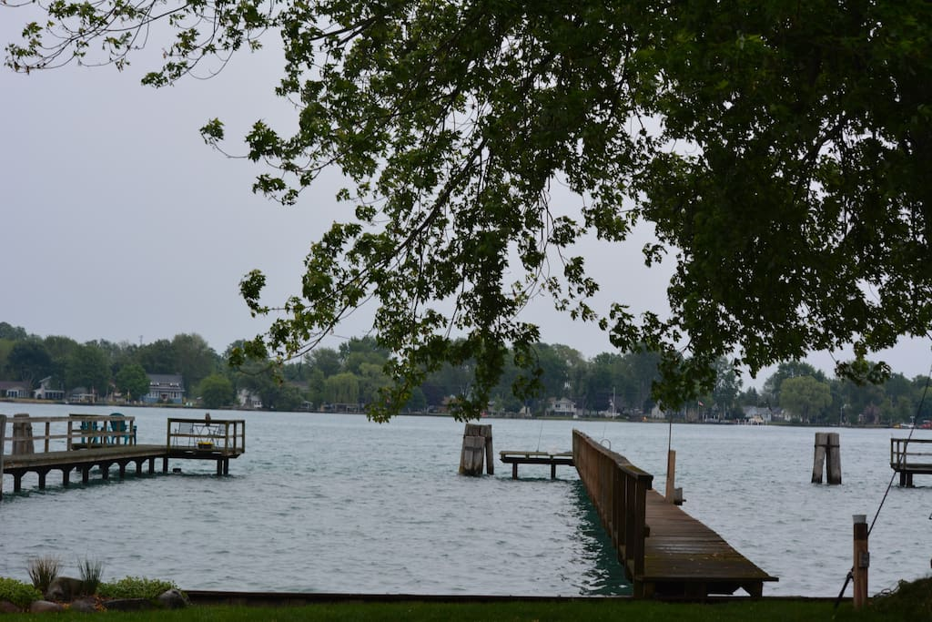 St Clair River - View from the house