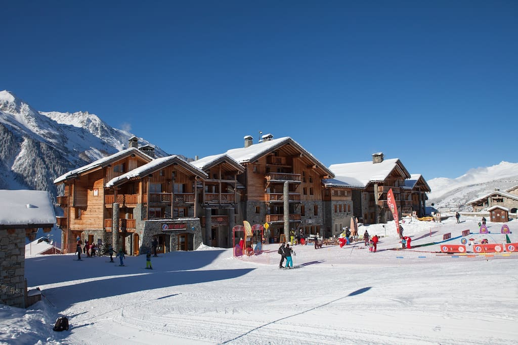 Les 4 Saisons is ski-in, ski-out