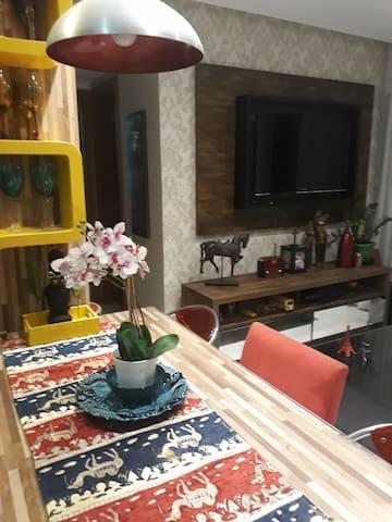 Apartamento excelente para viagem a dois e pessoas a trabalho !