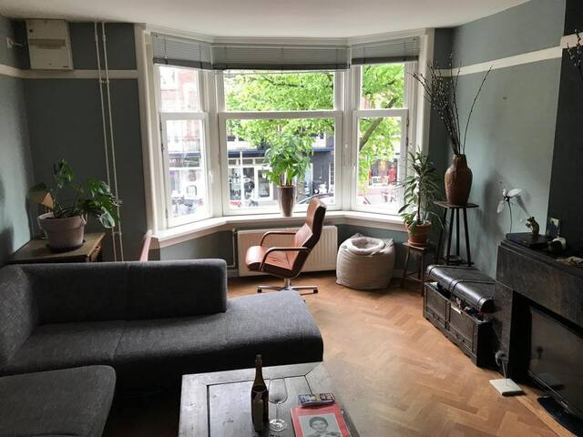 Big and cosy apartment close to the Pijp Amsterdam