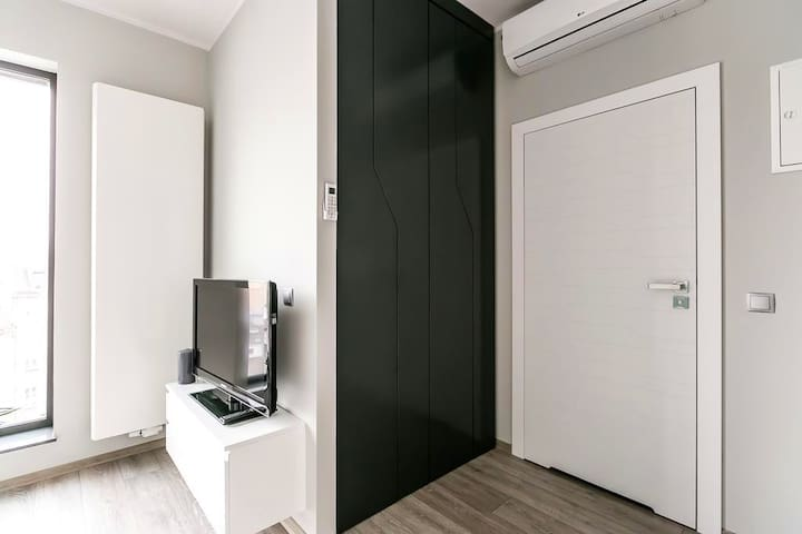 Apartament Półwiejska 47