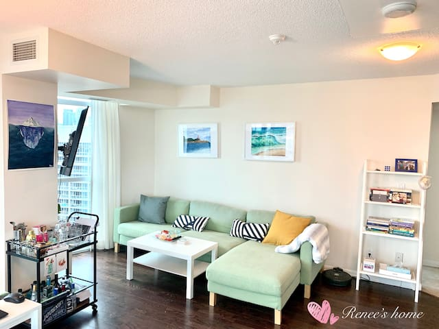 1 bedroom with private washroom in Downtown TO