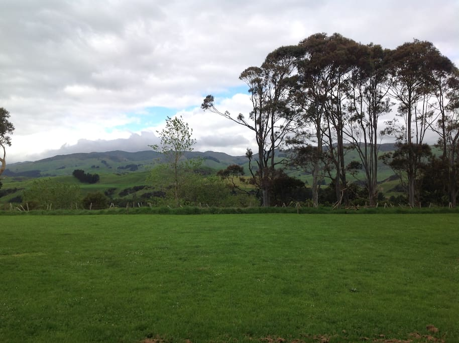 View of the Ruahine Ranges from your room