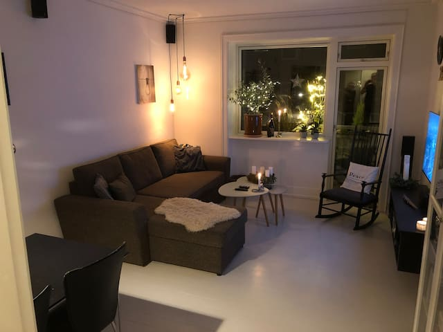"""Apartment with Danish """"hygge"""" and nordic vibes!"""