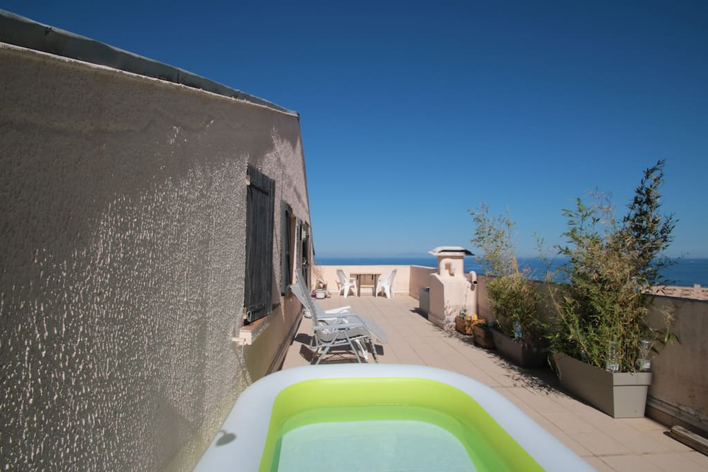 Appartement Toit Terrasse Vue Mer Apartments For Rent In Bastia Corse France