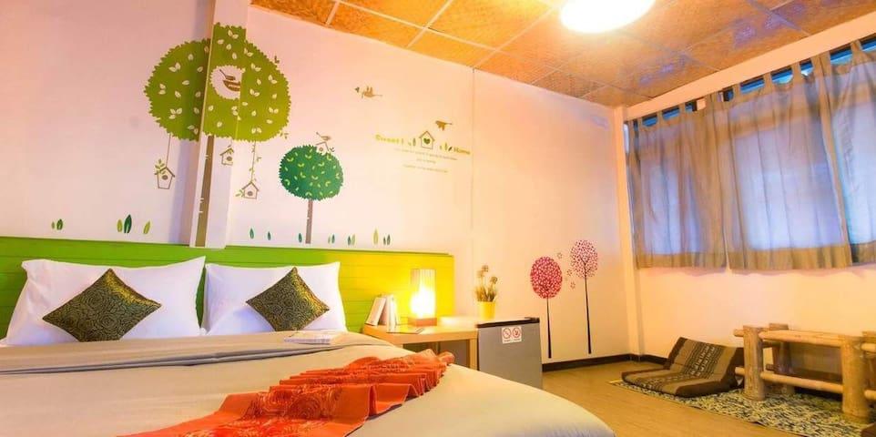 Sweet king-size room on Samui Island