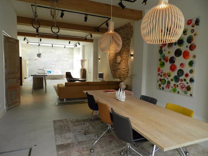 Unique Design Loft in Nijmegen Centre