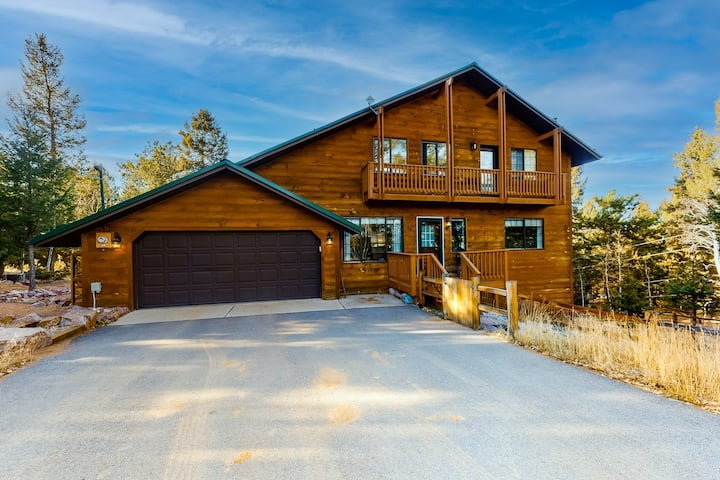 Dog-friendly home with high-speed WiFi, wood stove, and gas grill