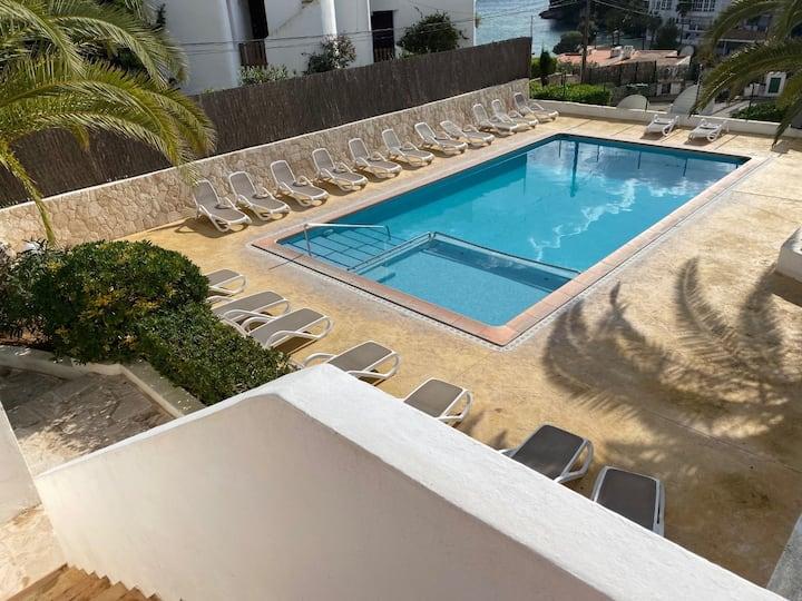 Duplex en Complejo El Pino vistas/mar Cala Ferrera