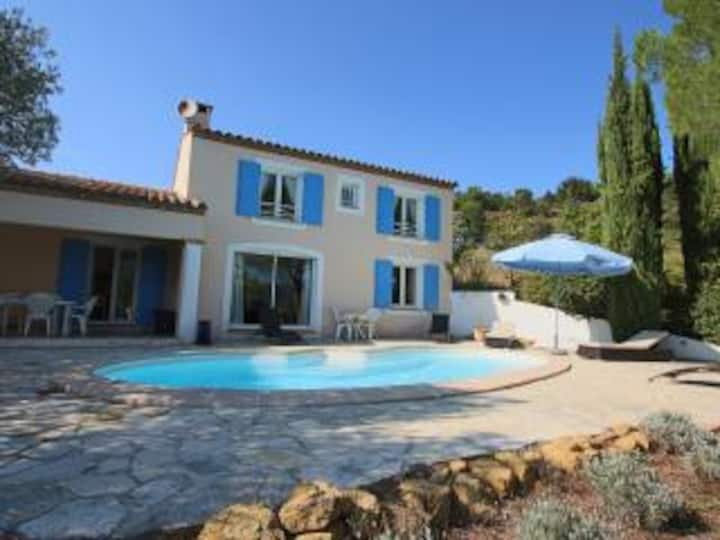 Rennes View, a charming French villa with pool.