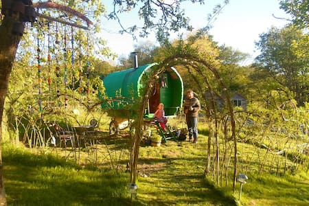 Gypsy Wagon In The Hills - Llandyssil - Altres