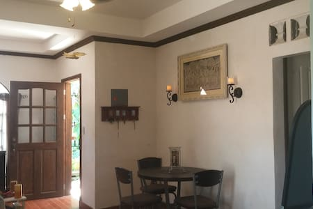 2BR Bungalow house w/ 15mbps wifi & parking