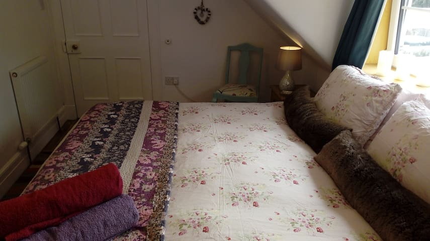 Comfortable Edwardian Attic Apartment