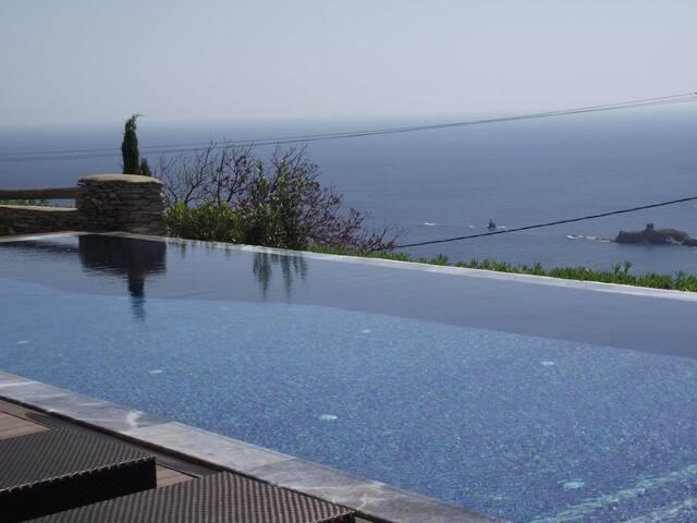 Villa Dialogoi, Relax, Be Inspired - Andros - Villa