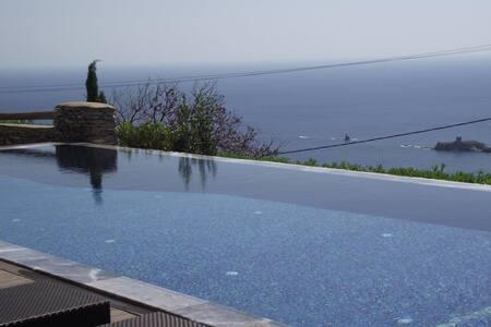 Villa Dialogoi, Relax, Be Inspired - Andros - 别墅