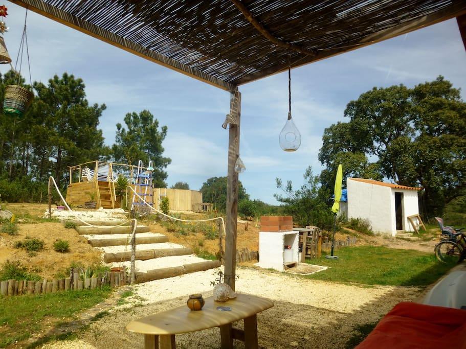 Jardim exterior/Outside Garden/Casa/Home/Aljezur/Costa Vicentina