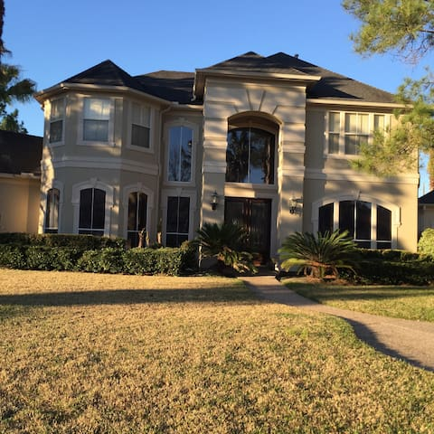 Great room in gated community