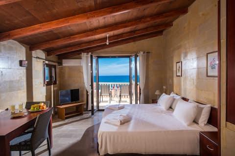 Квартира с видом на море,в шаге от песчаного пляжа Панормо!! 4