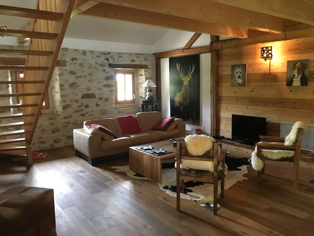 Cozy harmonious part of historic chateau