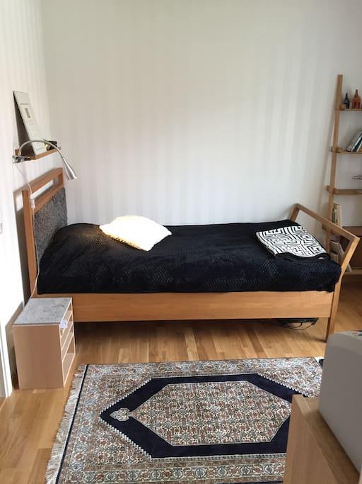 Sovrum, arbetsrum