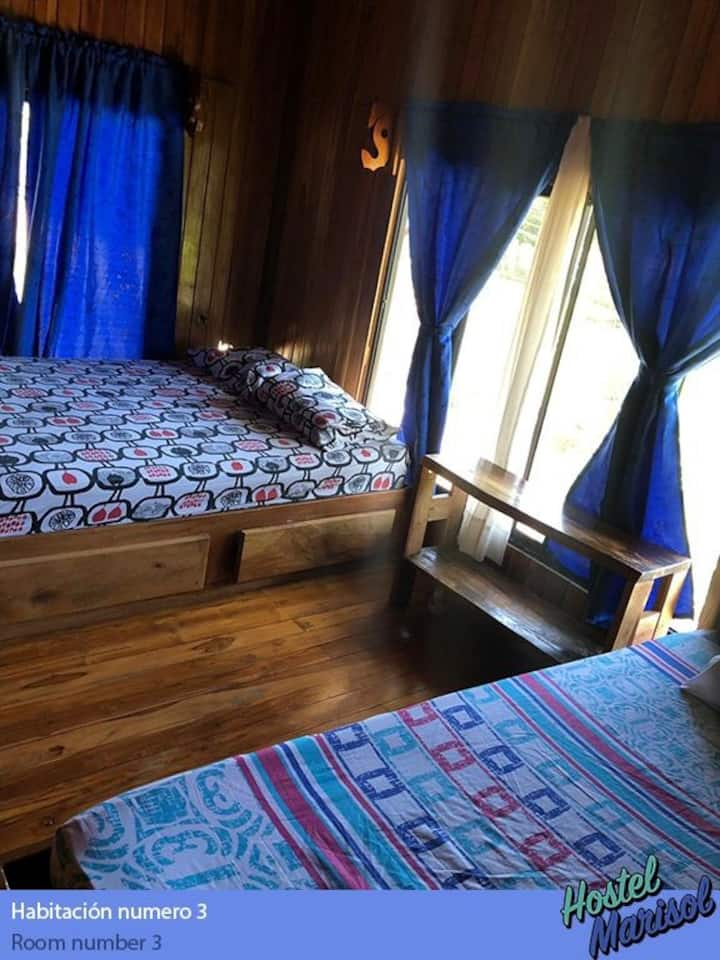 Triple comfort room#3 Hostel Marisol