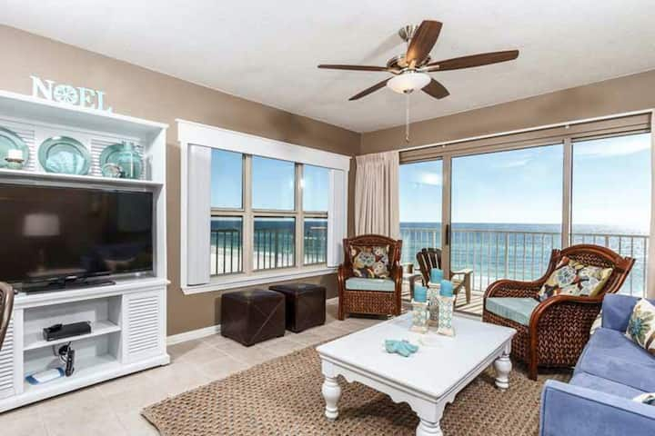 Spacious Condo w/ Gulf View! Shared pool and more!