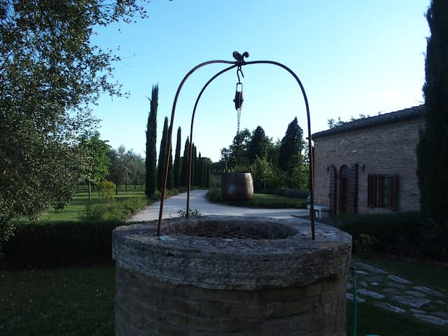 Bellagatta, an Enchanting spot in Val d'Orcia