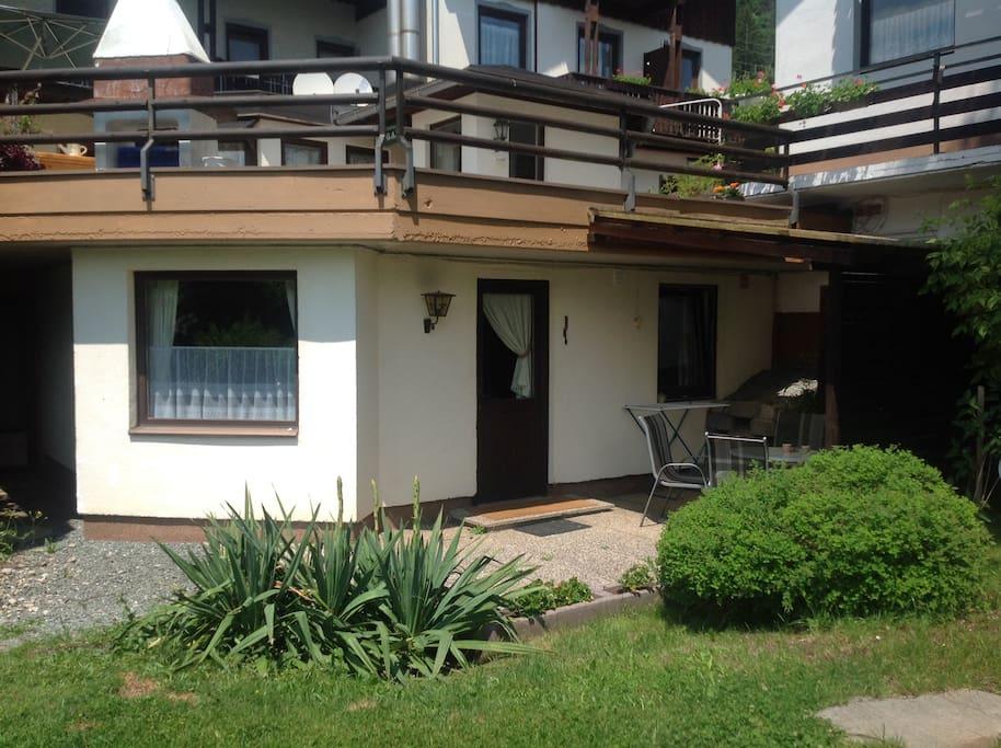 Appartement aan de tuinzijde