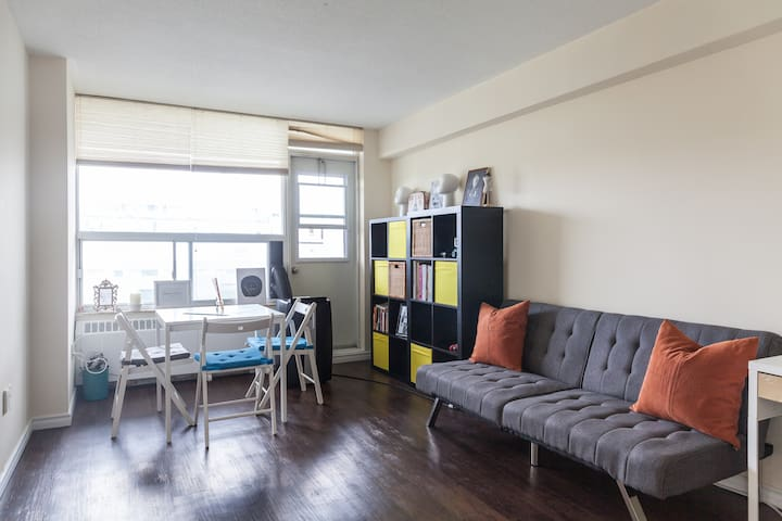 Cozy 1BR apartment at Bloor and Spadina, Annex.