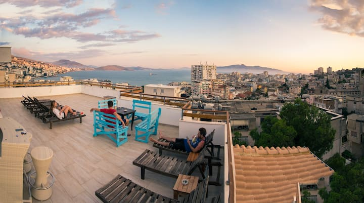 The most sociable hostel in Sarande