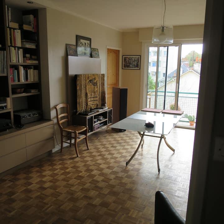 Rennes Centre - Chambre privative.