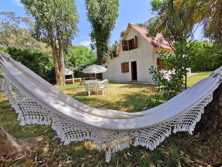 Casa con gran terreno en Barra de Valizas