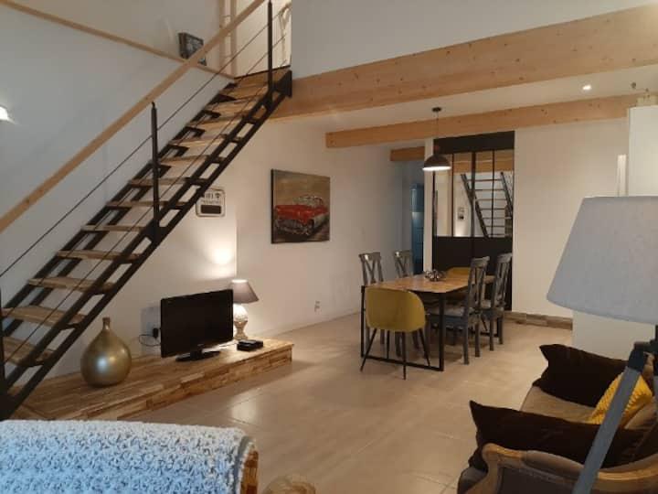 Gîte tout confort avec jardin portes de Montauban