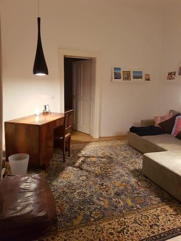 Zimmer mit Schlafcouch