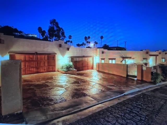"""Santa Fe Style Home at the Beach"""