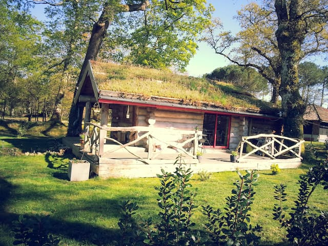 Cabane champêtre - Sindères - Rumah