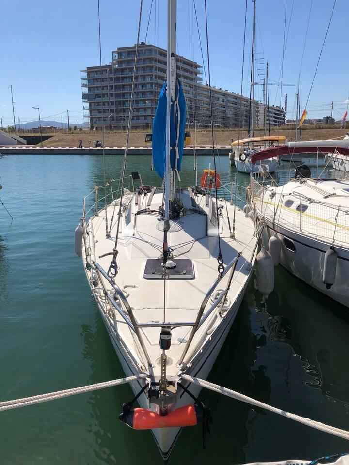 Beautiful sailboat