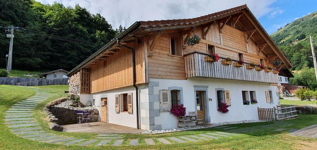 Appartement entre lac et montagne