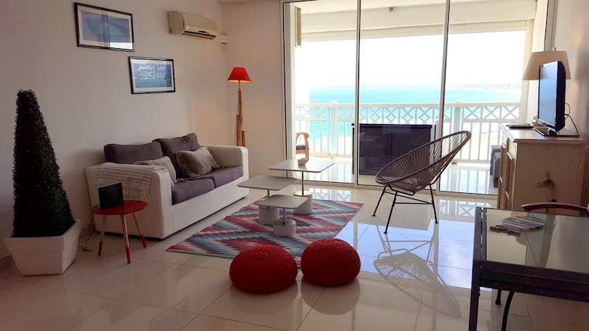 Amazing ocean view, large studio on Orient Bay - Collectivity of Saint Martin - Apartment
