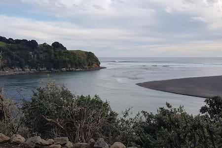 Awakino Heads - stunning and rugged King Country