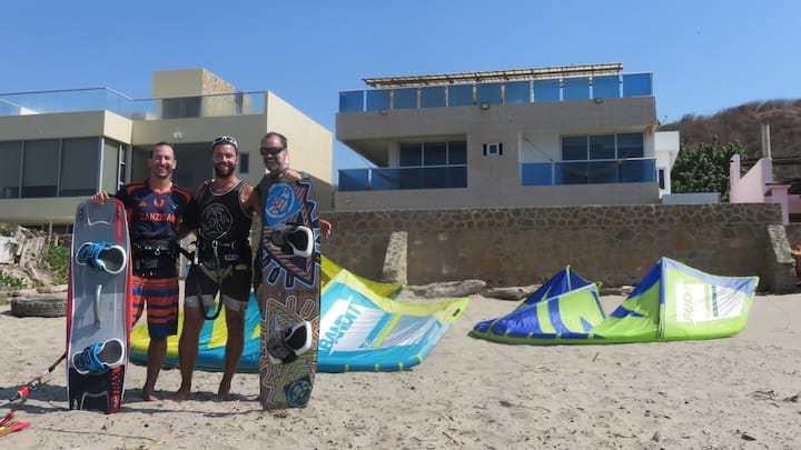 KITESURF house on the best Colombian spot! ROOM 4