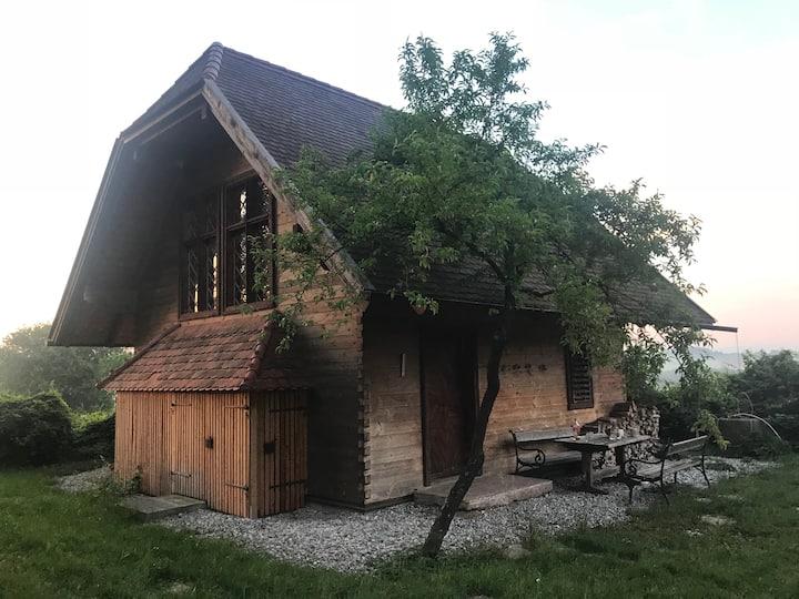 Ratholzlust, ein idyllisches Holzhaus am Waldrand